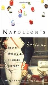 Los botones de Napoleón, Penny Le Corteur